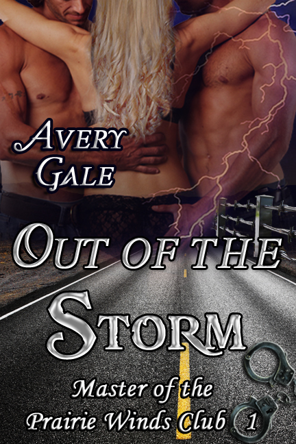 Out of the Storm - the first book in my new series The Masters of the Prairie Winds Club.